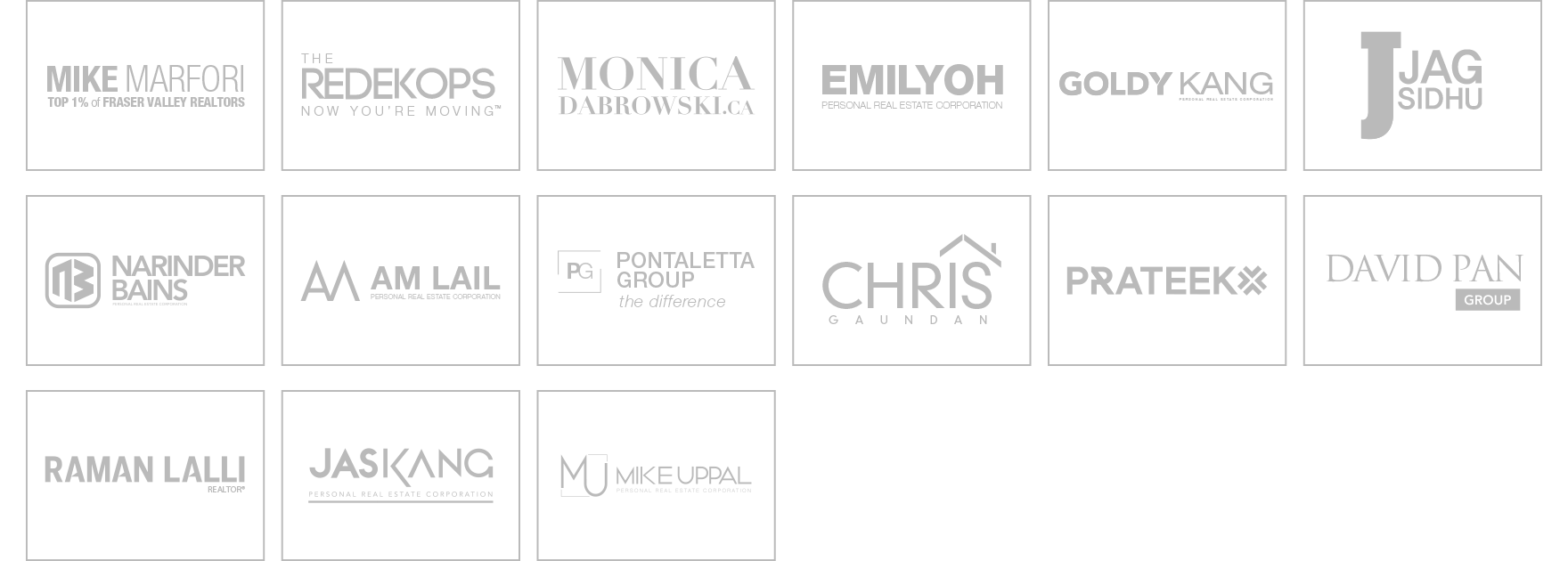 Branding Design Client List by ONIKON Creative